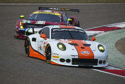 #86 Gulf Racing Porsche 911 RSR: Майк Хедлунд, Бен Баркер, Нік Фостер