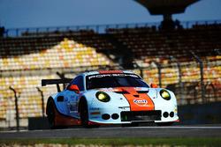 #86 Gulf Racing Porsche 911 RSR: Mike Hedlund, Ben Barker, Nicholas Foster