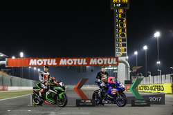 Чемпіон світового Супербайку Джонатан Рей, Kawasaki Racing, Чемпіон світового Суперспорту Лукас Махіас, GRT Yamaha Official WorldSSP Team