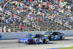 Jimmie Johnson, Hendrick Motorsports Chevrolet, Joey Gase, Tommy Baldwin Racing Chevrolet