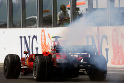 Felipe Massa, Ferrari F2008 abandona
