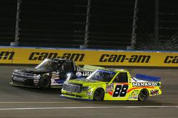 Matt Crafton, ThorSport Racing Toyota, Jordan Anderson, Rick Ware Motorsports Chevrolet