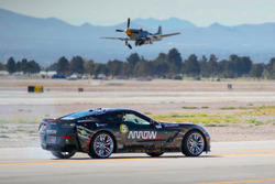 Sam Schmidt in the ARROW-modified Corvette C7 Z06 at Nellis Air Force Base, NV