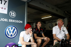 Joel Eriksson, Motopark with VEB, Dallara Volkswagen with his brother and father