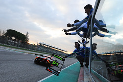 Ganadores de la carrera #17 Antonelli Motorsport: Loris Spinelli, Mikael Grenier