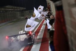 Second place #2 Porsche Team Porsche 919 Hybrid: Timo Bernhard, Earl Bamber, Brendon Hartley