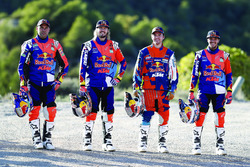 Sam Sunderland, Toby Price, Matthias Walkner, Matthias Walkner, Red Bull KTM Factory Team