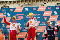 Podium: 1. Scott McLaughlin, Team Penske Ford; 2. Fabian Coulthard, Team Penske Ford; 3. Tim Slade, Brad Jones Racing Holden