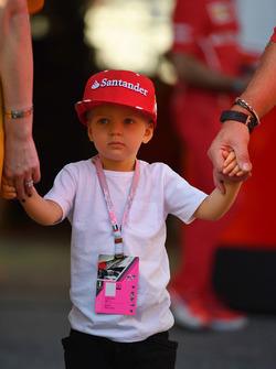 Kimi Räikkönen fia, Robin