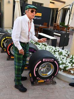 Jackie Stewart, gomme Pirelli 2018