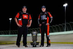 2017 champion Christopher Bell, Kyle Busch Motorsports Toyota, crew chief Ryan Fugle