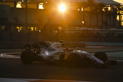 Formel-1-Test in Abu Dhabi