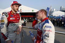 Race winner Daniel Abt, Audi Sport ABT Schaeffler, second place Felix Rosenqvist, Mahindra Racing