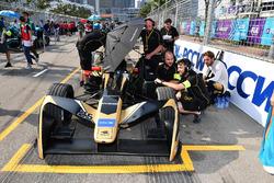 Jean-Eric Vergne, Techeetah, on the grid