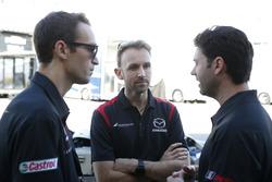 #77 Mazda Team Joest Mazda DPi: René Rast, #55 Mazda Team Joest Mazda DPi: Harry Tincknell, Jonathan Bomarito