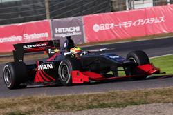 Rio Haryanto(Honda test Car)