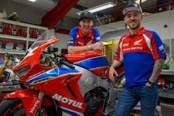 Ian Hutchinson ve Lee Johnston, Honda Racing