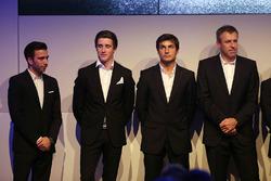 Line-up 2018, Philipp Eng, Joel Eriksson, Bruno Spengler e Bart Mampaey, Team Principal BMW Team RBM