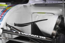 Williams FW40 aero detail