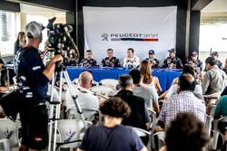 Press Conference, Bruno Famin, Peugeot Sport