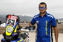Аравинд Прабхакар, Sherco TVS Rally Factory, Sherco TVS 450 Rallye (№53)