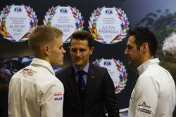 Les pilotes WRC et Matthew Wilson