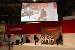 Derek Warwick, Dan Ticktum, Harrison Scott, Max Fewtrell ve Henry Hope-Frost,  Autosport Stage