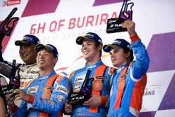 Podium LMP3: third place #1 WIN Motorsport Ligier JS P3: William Lok, Philippe Descombes, Richard Bradley