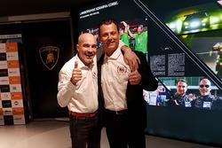 Armando Donazzan, Orange1 Racing team owner, and team manager Gottfried Grasser, GRT