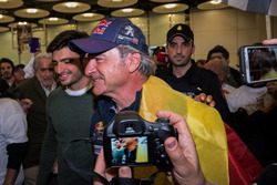 Carlos Sainz, Peugeot Sport with son Carlos Sainz Jr.