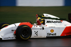 1. Ayrton Senna, McLaren Ford MP4/8