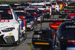 #66 Chip Ganassi Racing Ford GT, GTLM: Дірк Мюллер, Джоі Хенд, Себастьян Бурде, #67 Chip Ganassi Racing Ford GT, GTLM: Райан Бріско, Річард Вестбрук, Скотт Діксон
