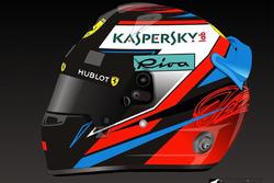 Casco 2018 di Kimi Raikkonen