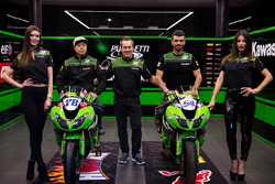 Kawasaki Puccetti Racing launch