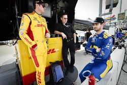Гонщики Andretti Autosport Honda Райан Хантер-Рей и Александр Росси