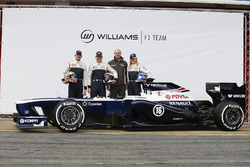 Валттері Боттас, Пастор Мальдонадо, С'юзі Вольфф, Williams F1, Williams FW35