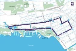 Zurich ePrix track layout