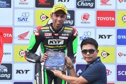 Podium SS600: third position Azlan Shah, Manual Tech KYT Kawasaki Racing
