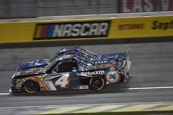 Spencer Davis, Kyle Busch Motorsports, Toyota Tundra JBL/SiriusXM, Stewart Friesen, Halmar Friesen Racing, Chevrolet Silverado We Build America