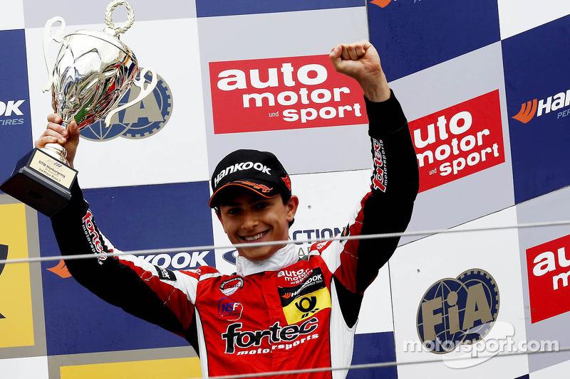 3e plaats Luis Derani