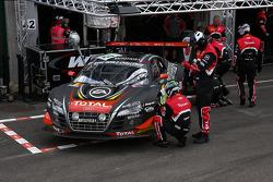 #13 Belgian Audi Club Team WRT Audi R8 LMS Ultra: Edward Sandstr__m, Marcel F_§ssler, Matthias Ekstr__m