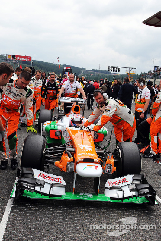 Paul di Resta, Sahara Force India no grid