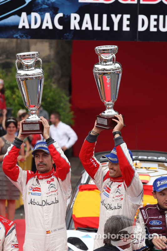 Dani Sordo, Carlos del Barrio, Citroen DS3 WRC nº 3, Citroen Total Abu Dhabi World Rally Team