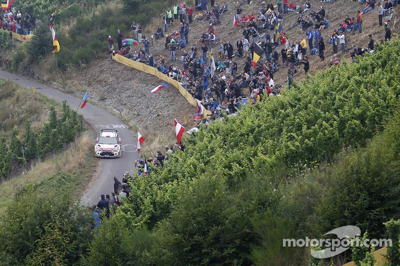 Dani Sordo, Carlos del Barrio, Citroen DS3 WRC #3, Citroen Total Abu Dhabi World Rally Team
