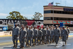 National guard represented at Sonoma Raceway