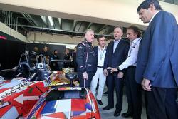 Pierre Fillon, ACO Presidente e Emerson Fittipaldi