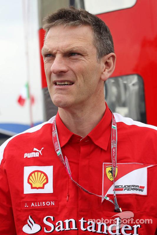 James Allison, Diretor Técnico de Chassis da Ferrari