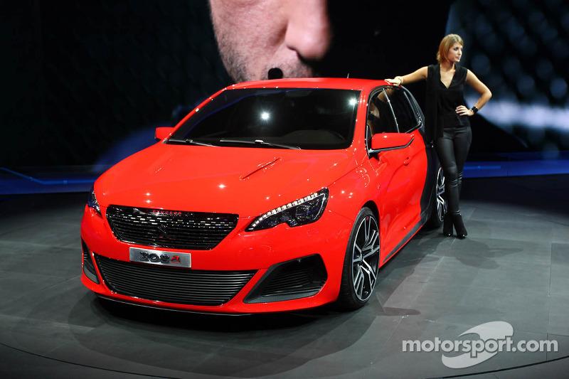 Peugeot 308 R Concept At Frankfurt International Motor Show
