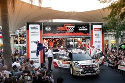 Kris Meeke and Chris Patterson, Citroën DS3 WRC, Citroën Total Abu Dhabi World Rally Team