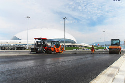 Sochi circuit construction